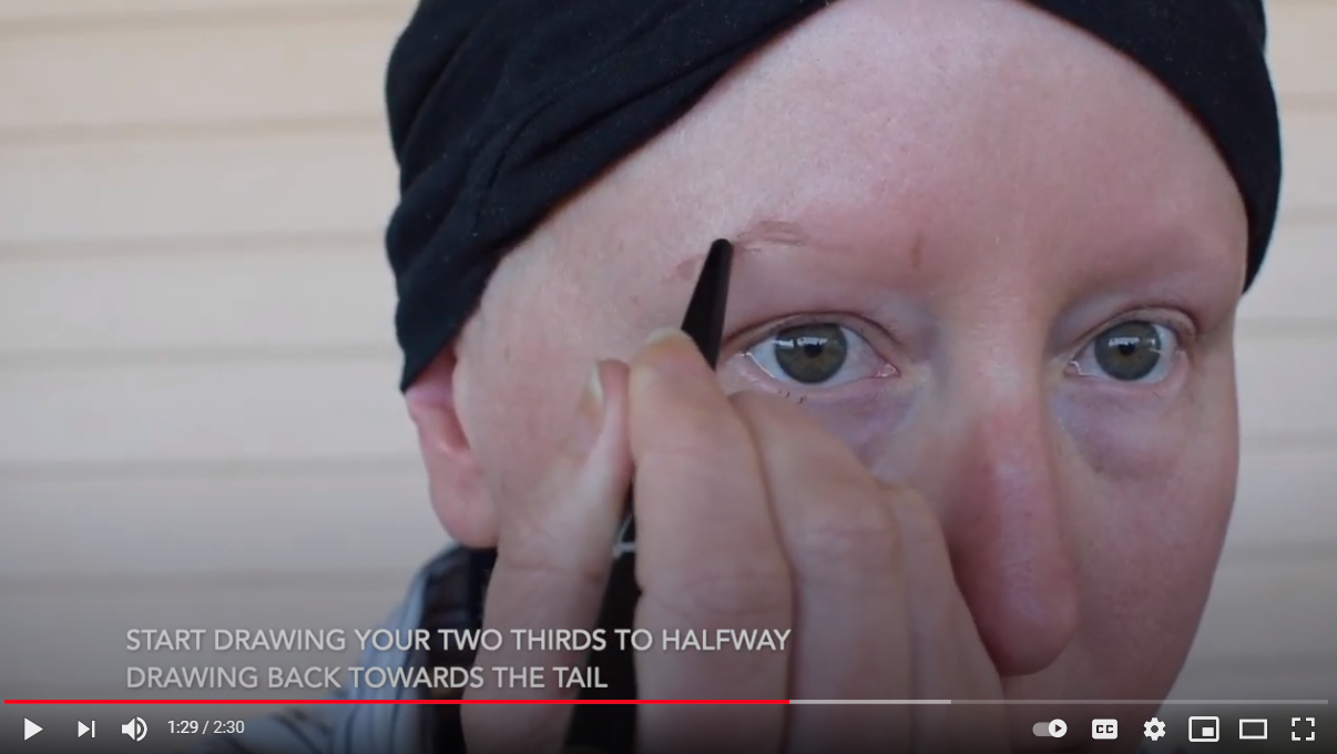 Eyebrows 101 for Chemotherapy